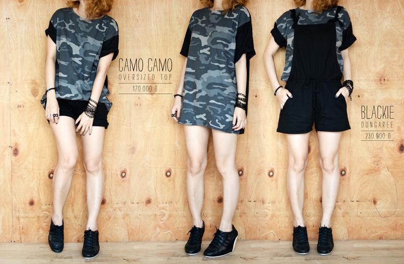 Camo Camo -170 | Blackie - 230
