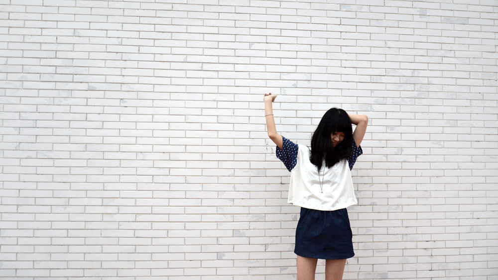 Dots_Boxy Croptop & Mini skirt 2