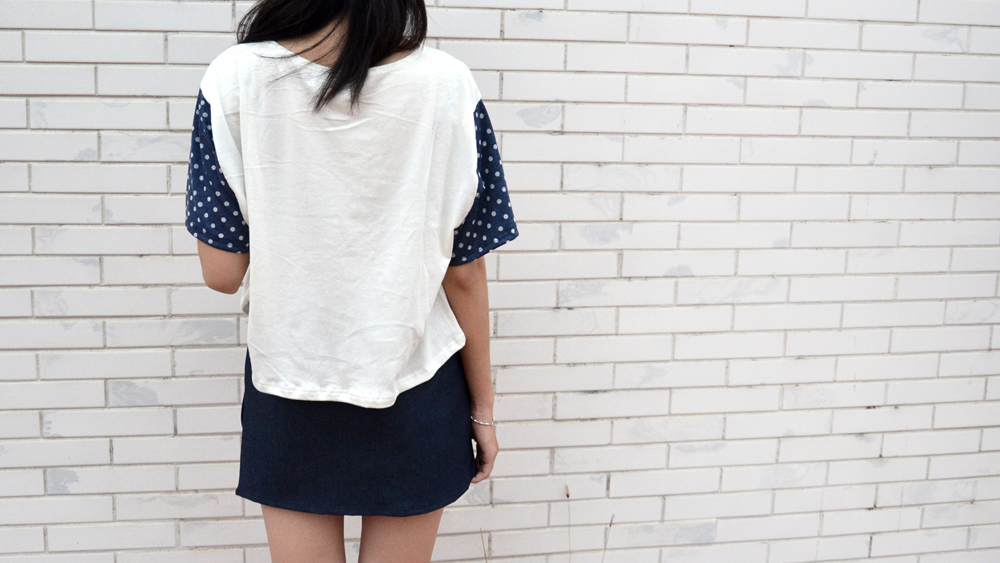 Dots_Boxy Croptop & Mini skirt 3