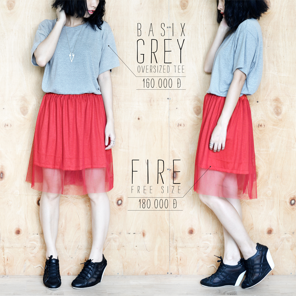 Basix Grey + Fire