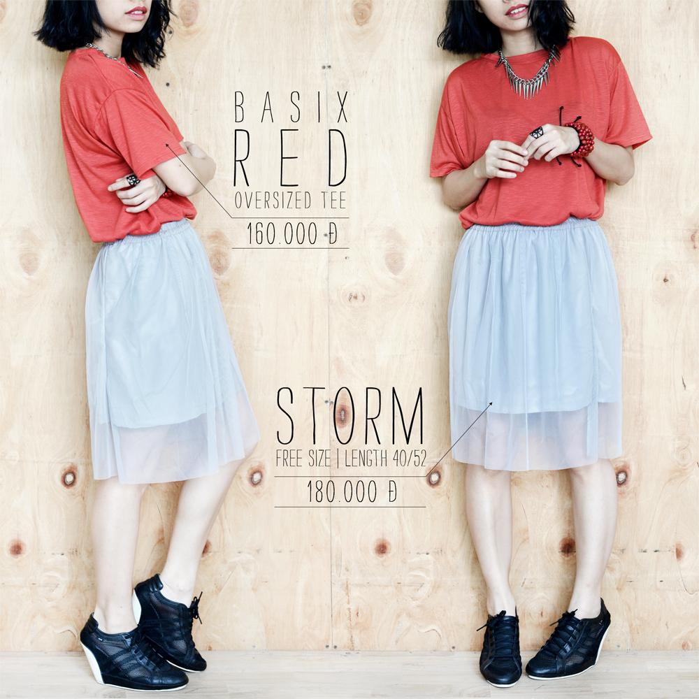 Basix Red + Storm