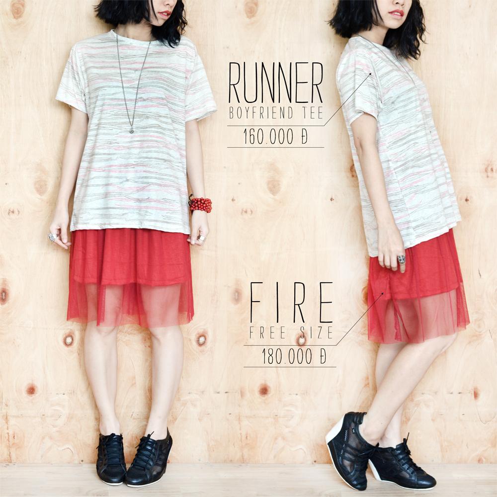 Runner + Fire