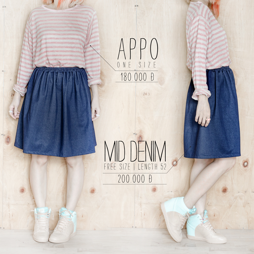 Appo + Mid Denim